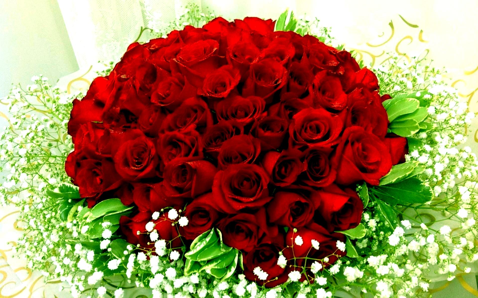 صورة صور ورود حلوه , اجمل باقات الورود الحمراء