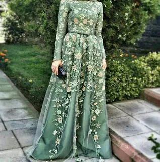 صورة فساتين تركية للمحجبات , اجمل تصميمات الفستان التركى 2019
