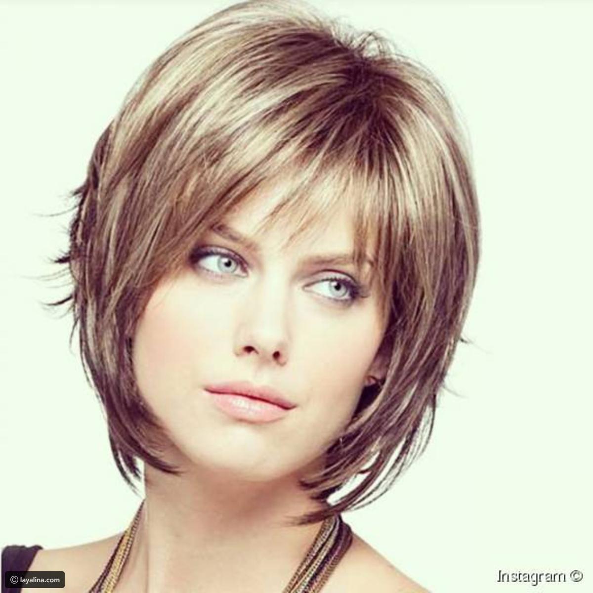اجمل تسريحات الشعر القصير , لمسات سحريه لجمال الشعر