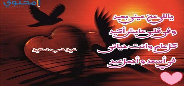 بالصور رسائل عيد الحب , تهئنة المحبين فى عيد الحب 6308 8