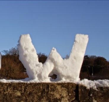 تبدأ بحرف حرف W بالثلج