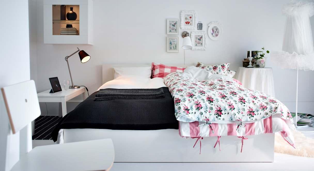 صور ايكيا غرف نوم , احدث تصميمات غرف نوم شركة ايكيا