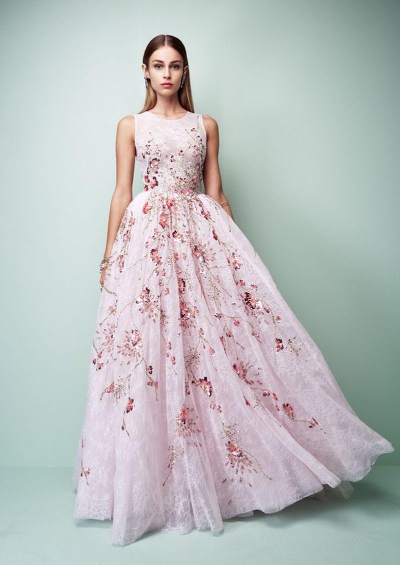 صورة احدث موديلات الفساتين , اجدد تصميمات للدريسات