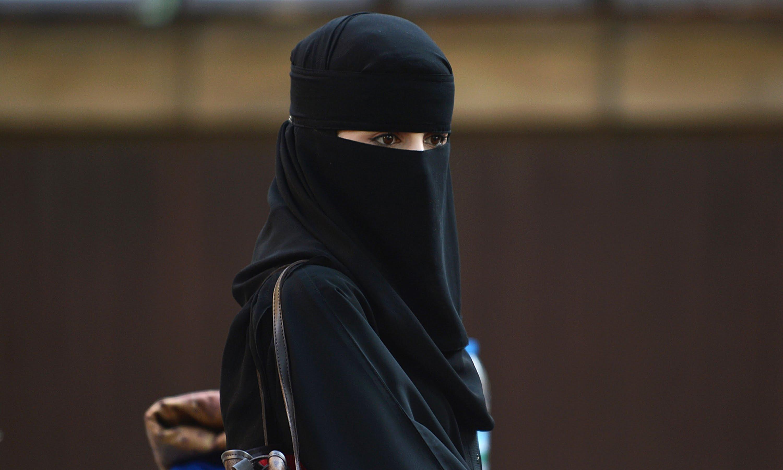 صورة صور بنات منقبات , ذوات الرداء الاسود