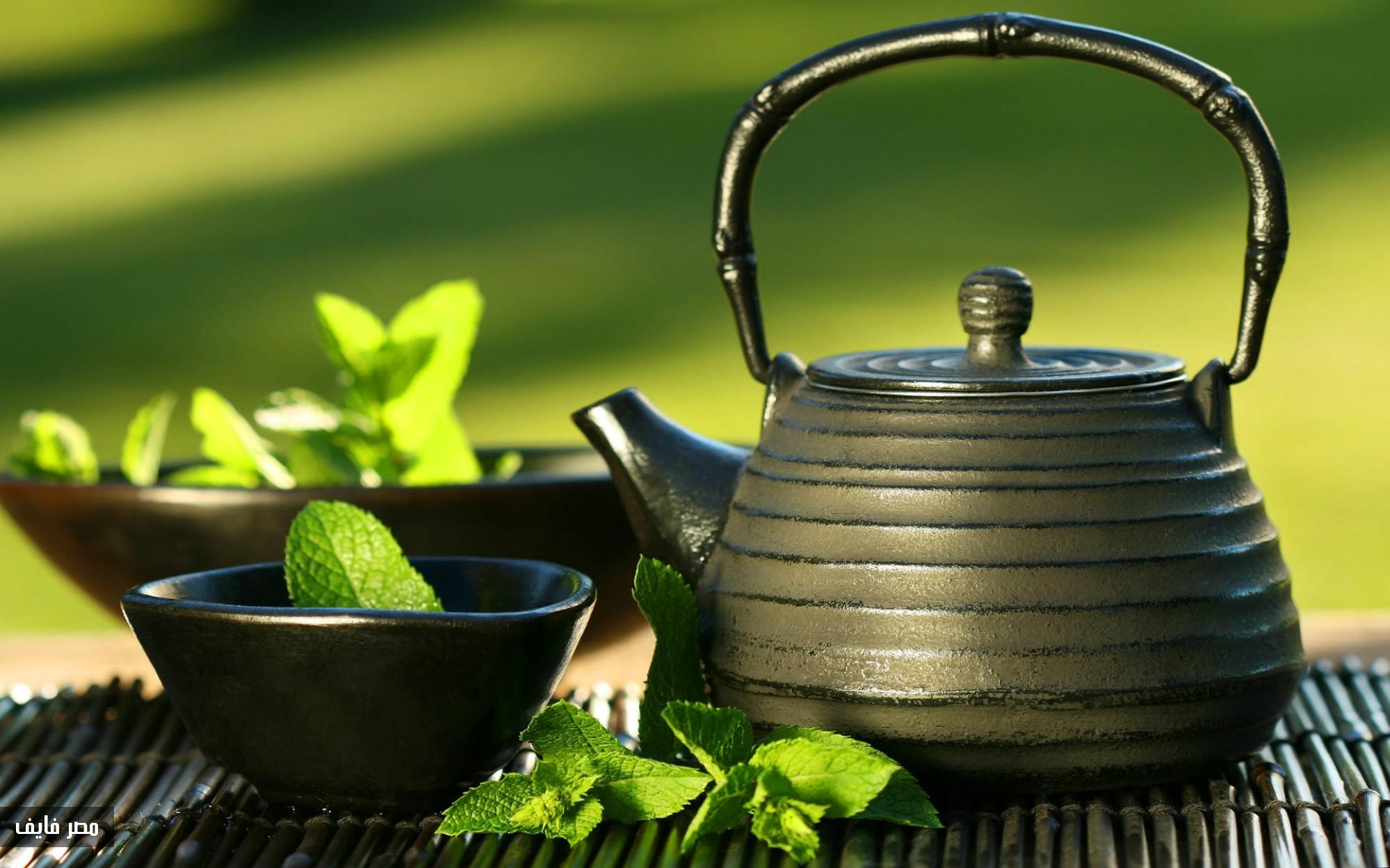 صورة اضرار الشاي الاخضر , مخاطر استخدام الشاي الاخضر