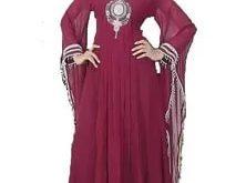 صور عباية مغربية , اجمل تصميمات العباءات المغربية المطرزو