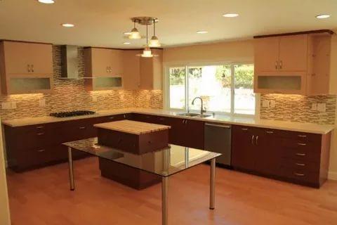صورة مطابخ امريكية , تصميم حديث وعصرى للمطبخ المفتوح