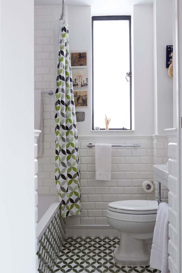صور ديكور حمامات صغيرة , احدث صيحات الديكور للحمام الصغير