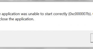 صورة حل مشكلة 0xc00007b , مشكلة الكمبيوتر 0xc00007b