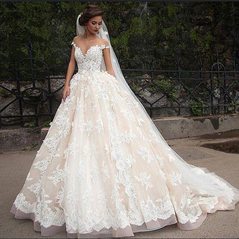 صورة صور فساتين عروس , صور اجمل فساتين العروس