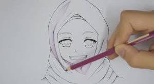 بالصور رسومات بنات سهله , صورة لوجة فتاة سهلة الرسم 5805 13 300x165