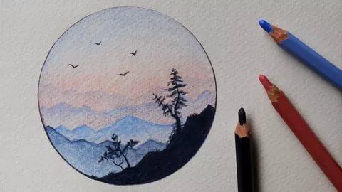 بالصور رسم سهل جدا , رسومات جميلة سهلة التقليد 5950 9