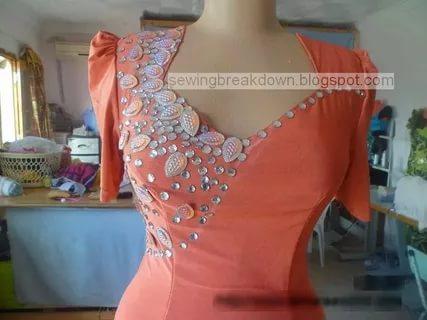 صورة قنادر صيفية , صيحات متنوعة لتصميم الفساتين الصيفية
