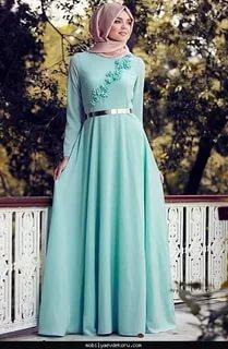 صورة فساتين سواريه تركى , تصميمات فخمة لفساتين السهرة
