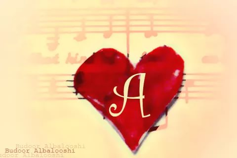 صور اجمل الصور عن حرف a , صورة متنوعة ولطيفة لحرف A