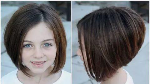 صورة قصات شعر قصير جدا , اجمل قصة شعر قصيرة لطفلتك