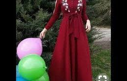 صورة موديلات حجابات جزائرية مخيطة , احدث صيحات الحجاب الجزائرى