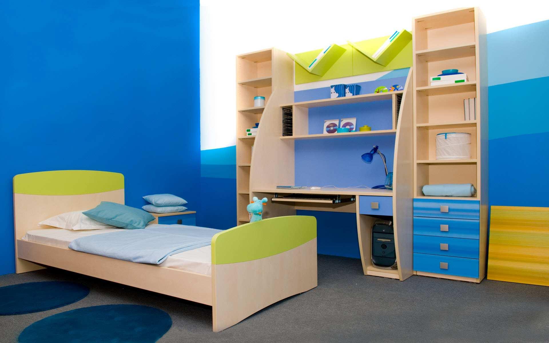 صور غرف اطفال اولاد , تصميمات مودرن لغرف الاولاد