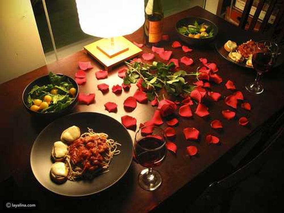 صور افكار لعشاء رومانسي , اجمل عزومات العشاق