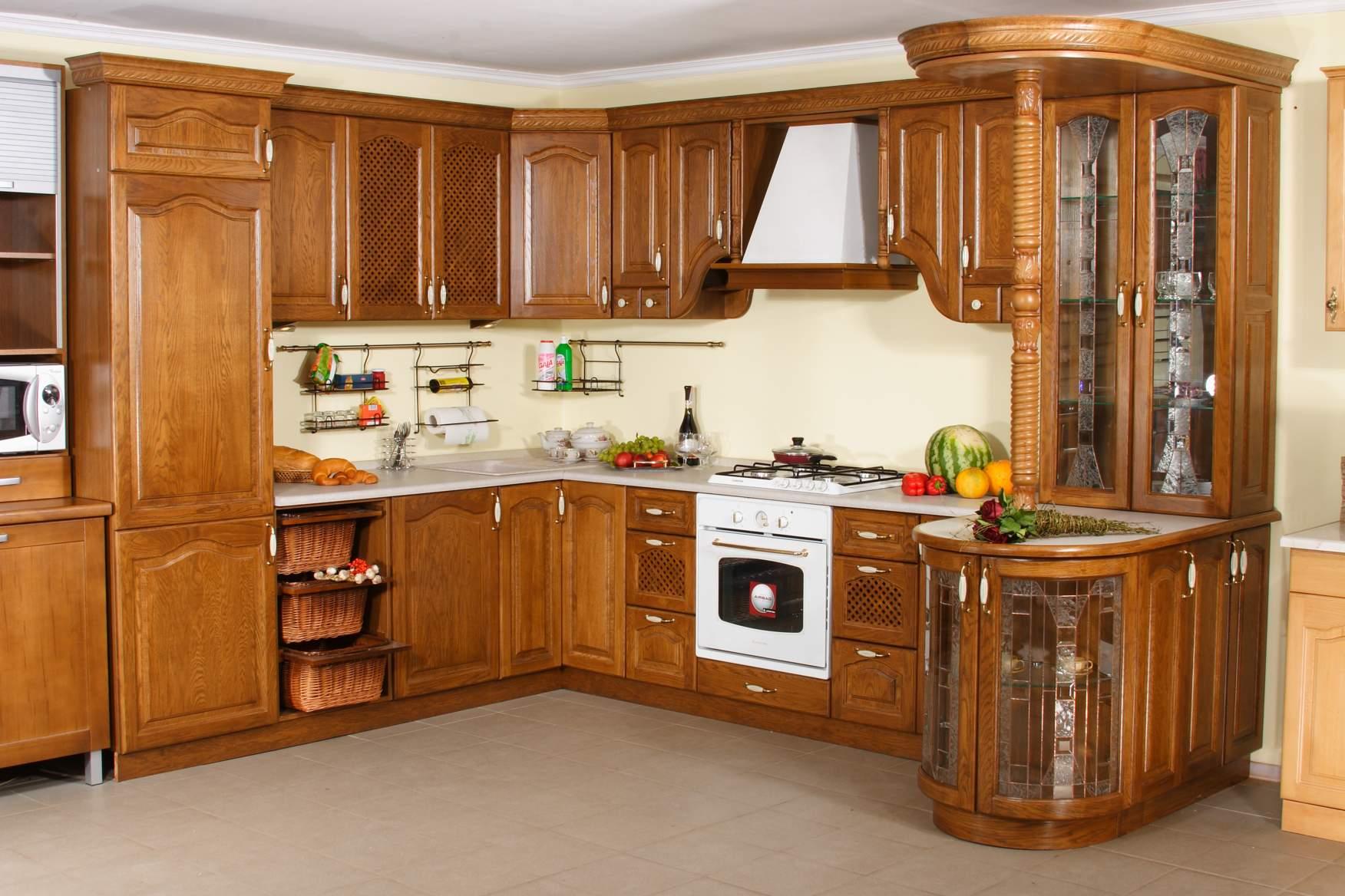 صورة مطابخ خشب , تصميمات رائعة للمطابخ