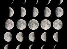 صورة منازل القمر , اشكال القمر وتغير هيئته