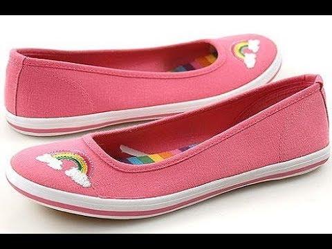 صورة احذية فلات , اجمل الاحذية والشوزات فلات