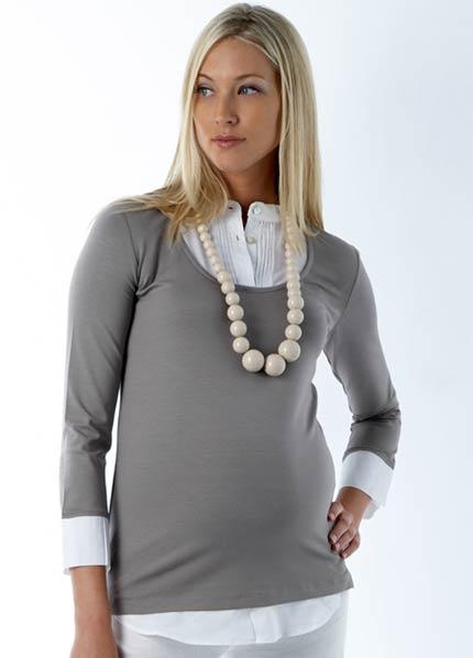 بالصور ملابس شتوية للحوامل , ملابس للحامل فى فصل الشتاء 1056 3
