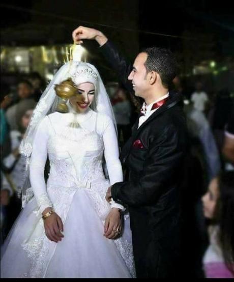بالصور صور عريس وعروسه , اجمل صور للعروسين 1068 3