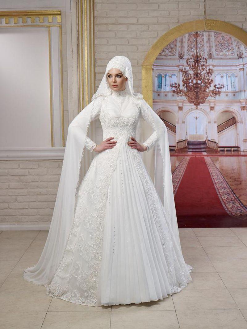 صوره فساتين اعراس للمحجبات , اجمل فساتين للافراح بالحجاب