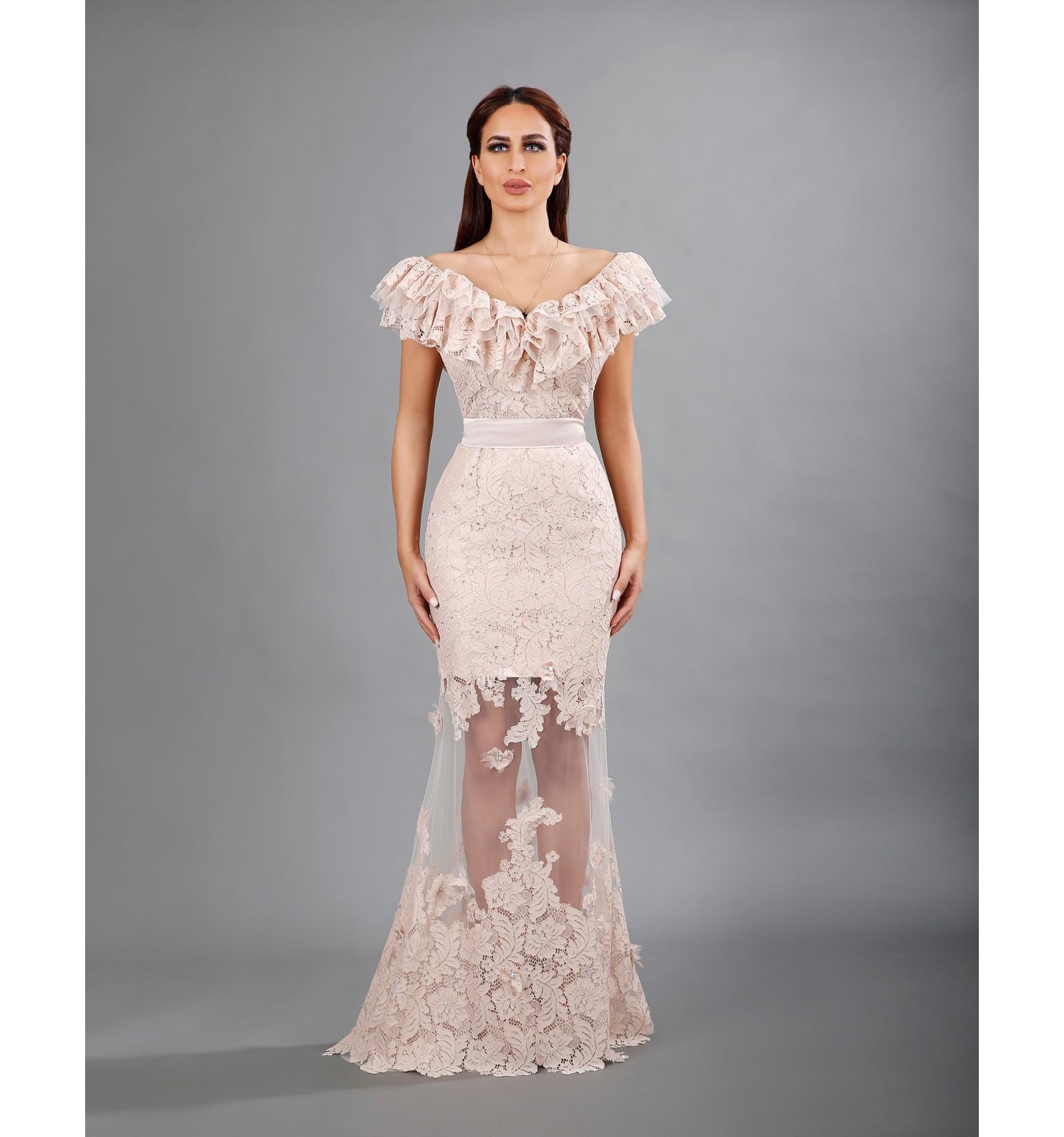 بالصور فساتين دانتيل , تالقى بجمال فستانك 1275 3