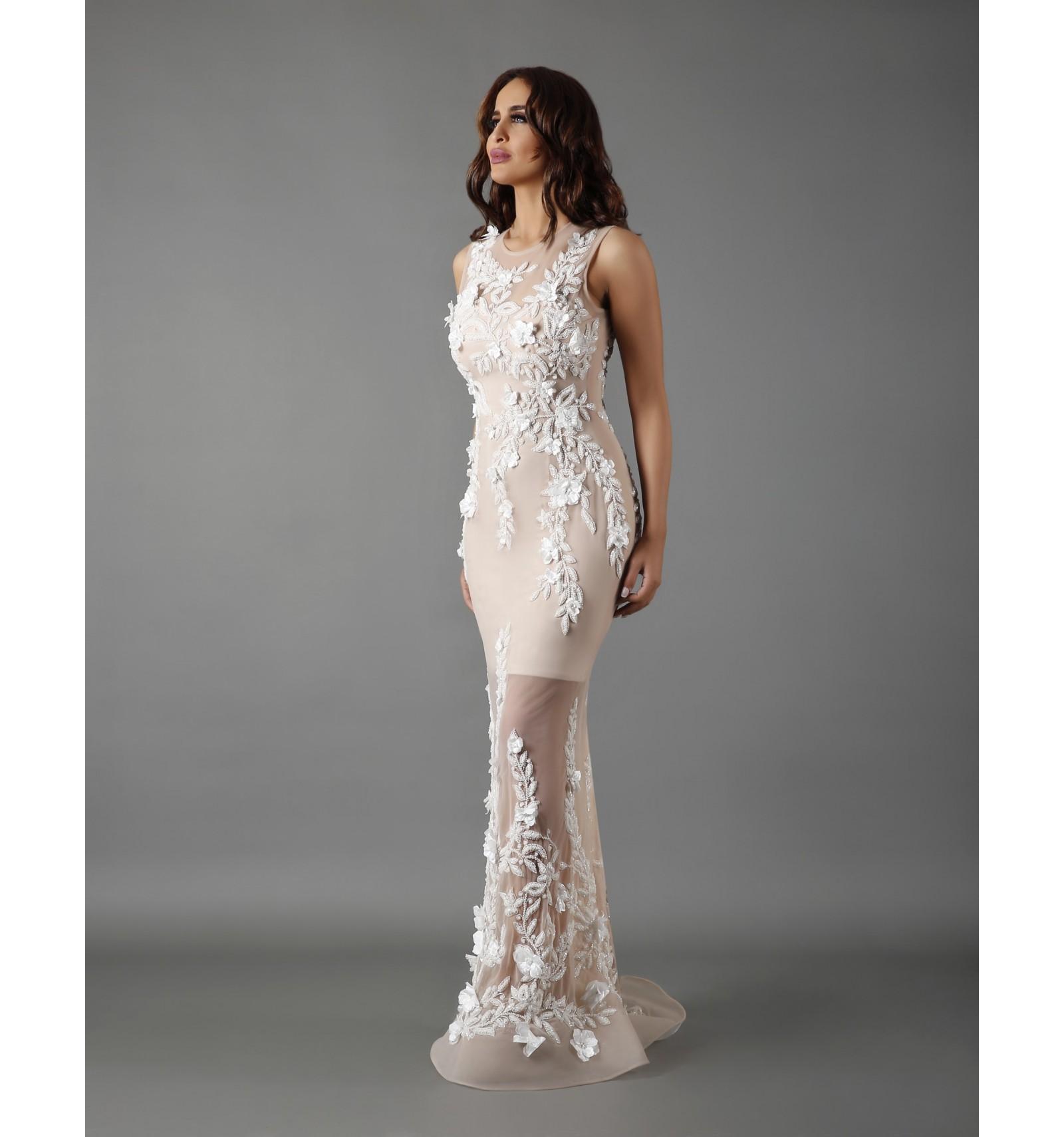 بالصور فساتين دانتيل , تالقى بجمال فستانك 1275 4