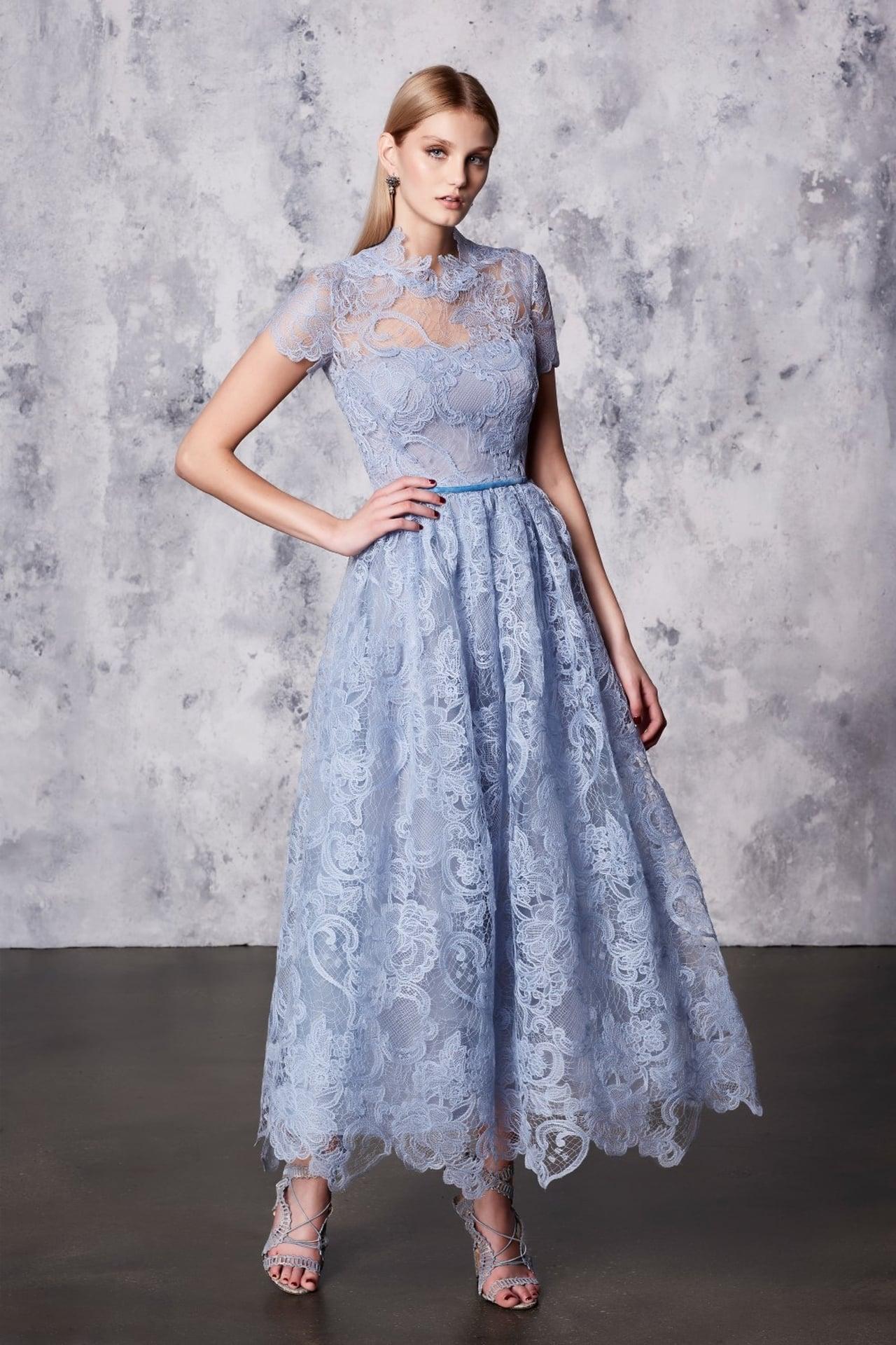بالصور فساتين دانتيل , تالقى بجمال فستانك 1275 8