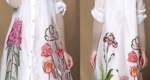 بالصور موديلات بلوزات شيفون للمحجبات , جمال البلوزة مع الحجاب 1290 11 310x165