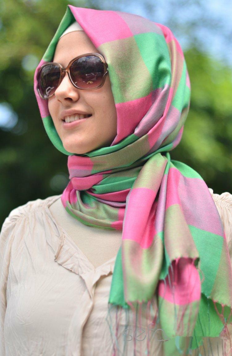 بالصور صور فتيات محجبات , جمال المراه بالحجاب 1301 11
