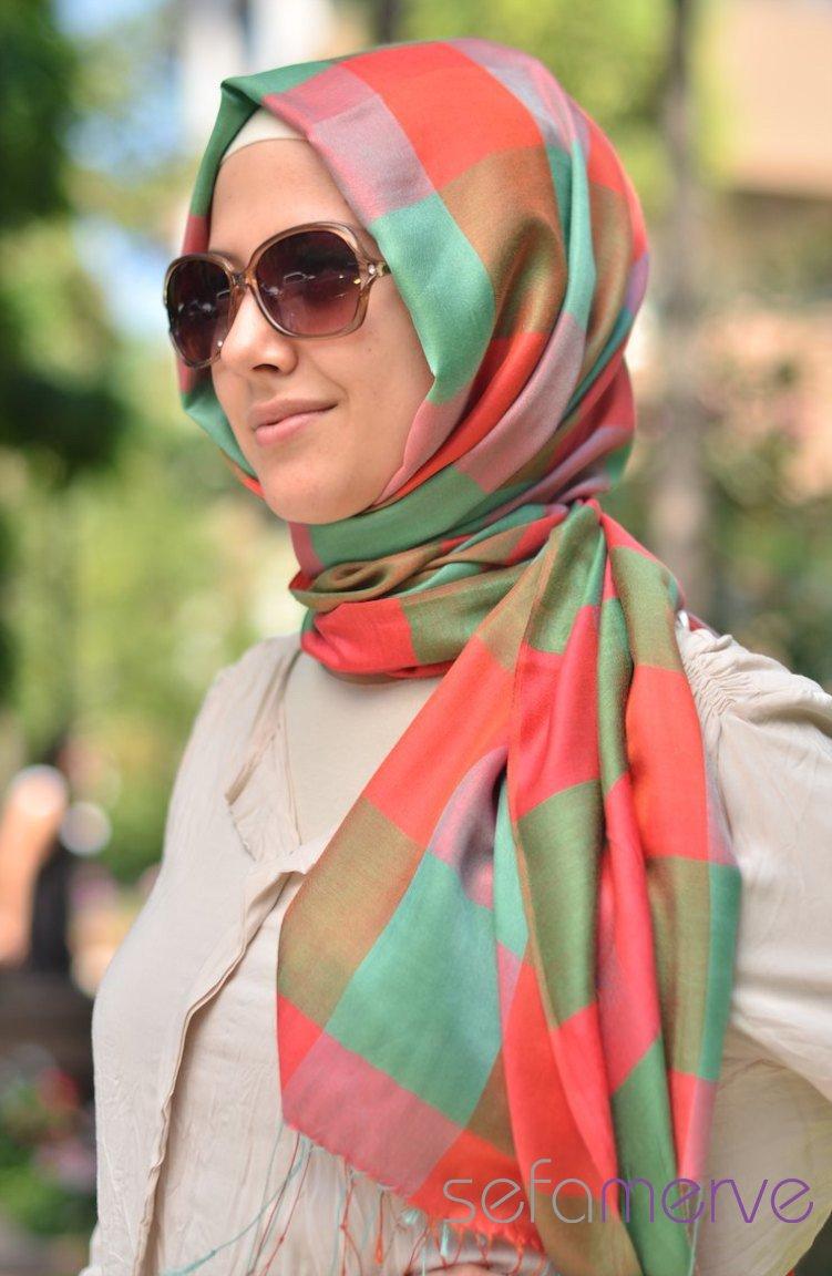 بالصور صور فتيات محجبات , جمال المراه بالحجاب 1301 12