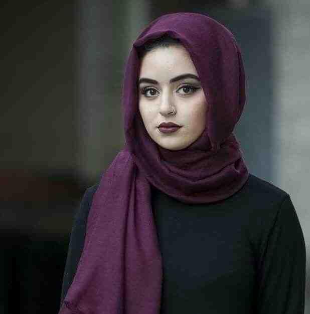 بالصور صور فتيات محجبات , جمال المراه بالحجاب 1301 3