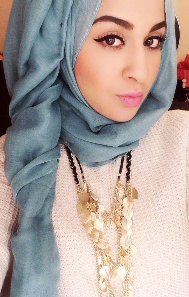 بالصور صور فتيات محجبات , جمال المراه بالحجاب 1301 6