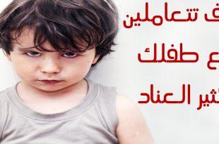 بالصور كيفية التعامل مع الطفل العنيد , معامله الاطفال الذين يعانون من العند والعصبية 1318 2 310x205