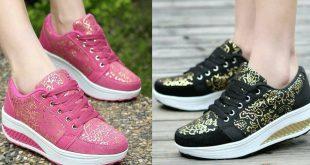 صور احذية بنات , اجمل تشكيله شوزات للبنات