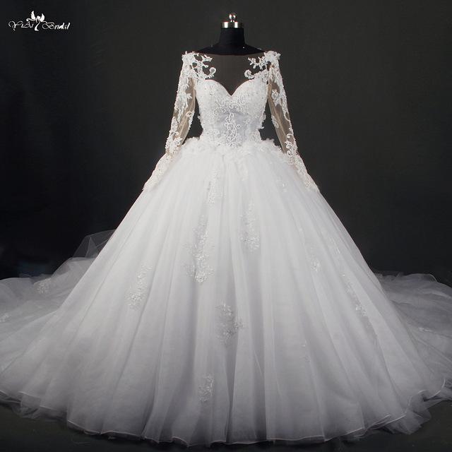 صورة فساتين افراح , تالقي بفستان زفافك