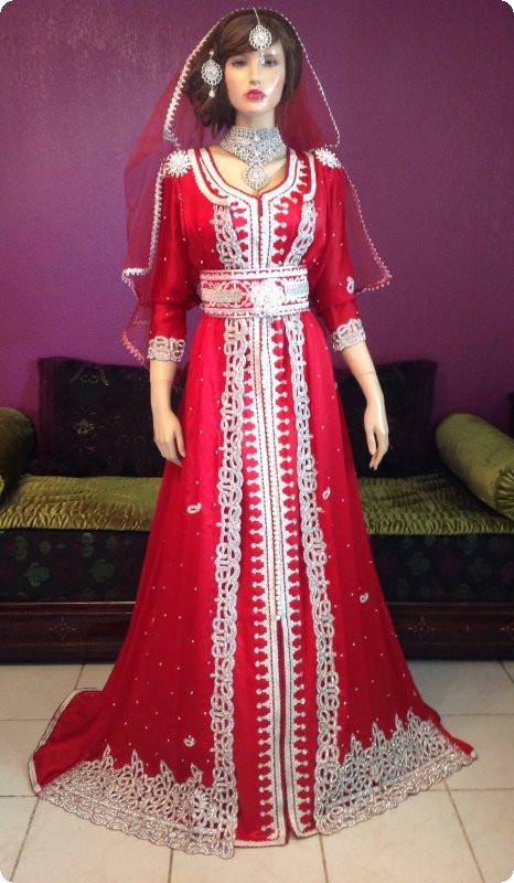 بالصور قفاطين مغربية , افخم انواع الفساتين فى المغرب 1391 10