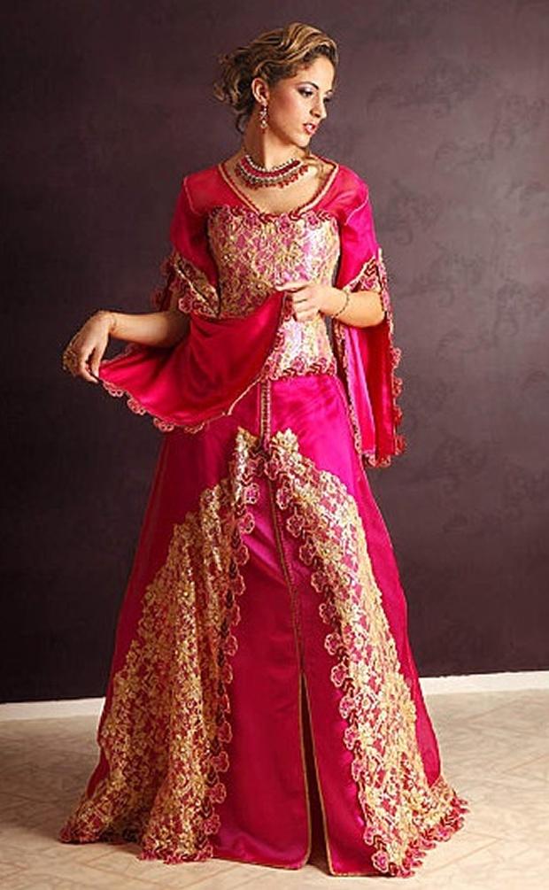 بالصور قفاطين مغربية , افخم انواع الفساتين فى المغرب 1391 2