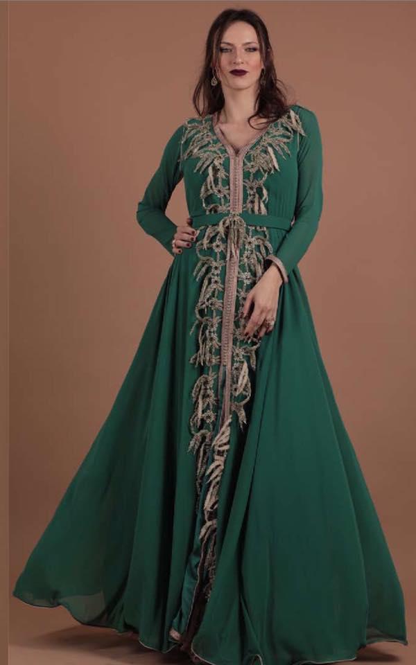 بالصور قفاطين مغربية , افخم انواع الفساتين فى المغرب 1391 3