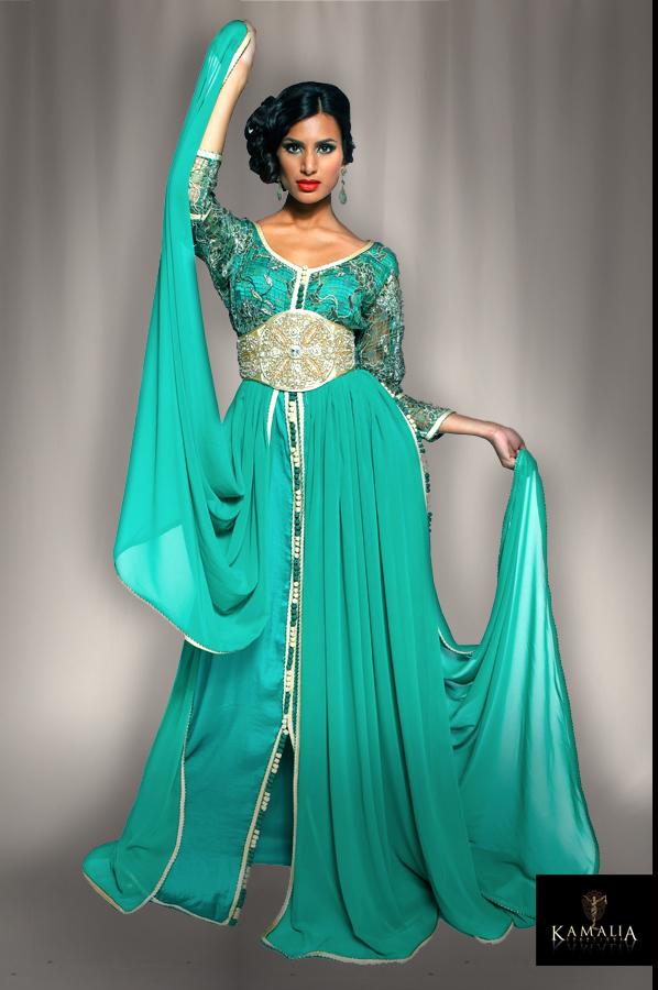 بالصور قفاطين مغربية , افخم انواع الفساتين فى المغرب 1391 7