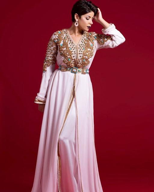بالصور قفاطين مغربية , افخم انواع الفساتين فى المغرب 1391 9