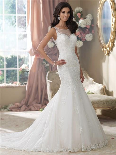 بالصور صور فساتين اعراس , تشكيله فساتين زفاف رائعه 1396 10