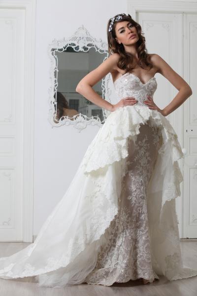 بالصور صور فساتين اعراس , تشكيله فساتين زفاف رائعه 1396 2