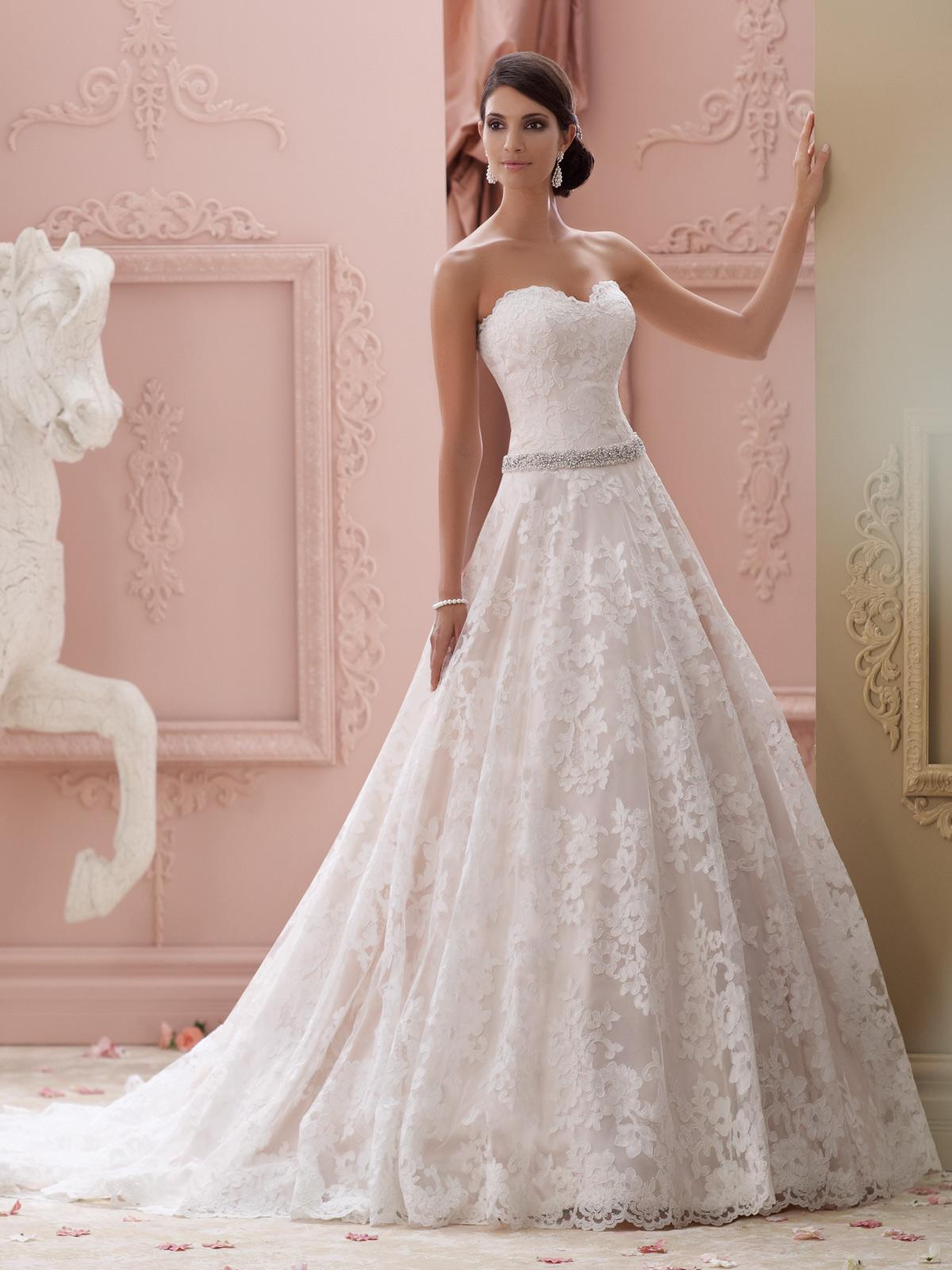 بالصور صور فساتين اعراس , تشكيله فساتين زفاف رائعه 1396 4