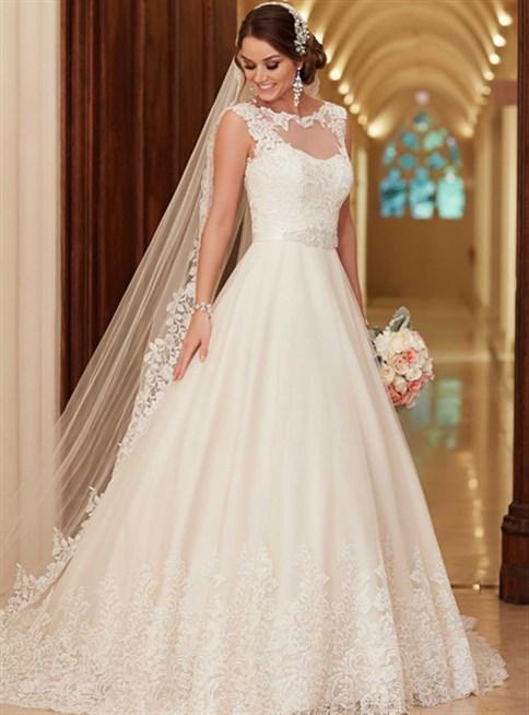 بالصور صور فساتين اعراس , تشكيله فساتين زفاف رائعه 1396 5