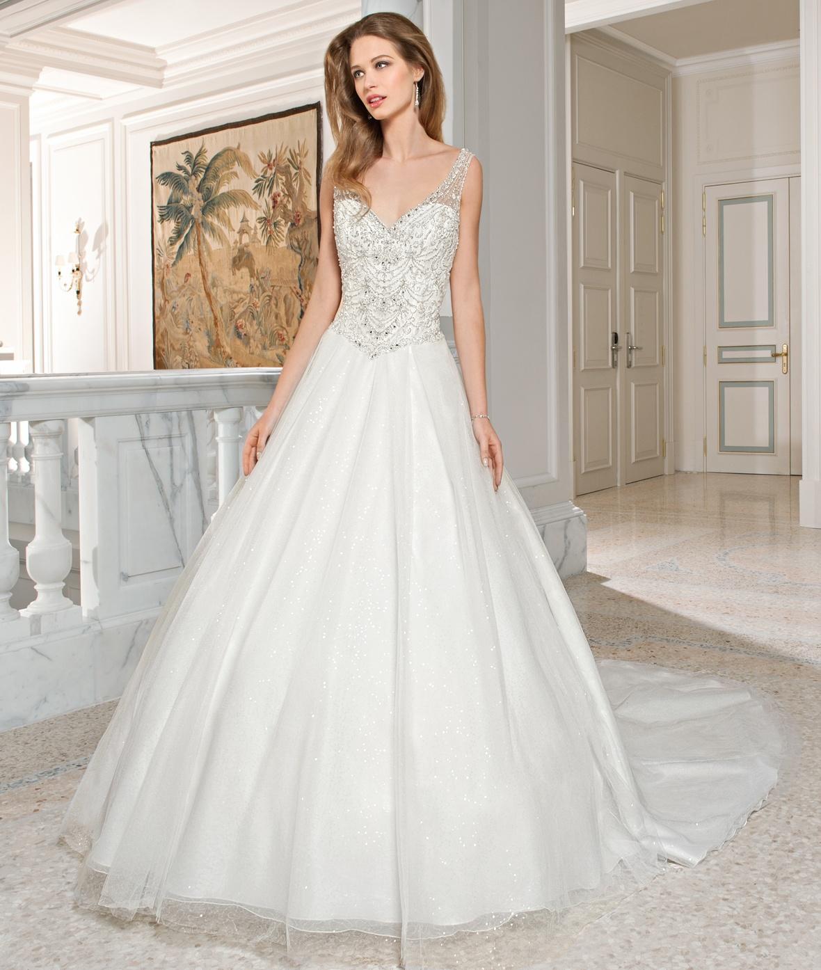 بالصور صور فساتين اعراس , تشكيله فساتين زفاف رائعه 1396 6